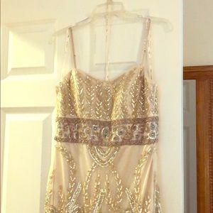 Glamor dress. 1920s look